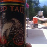Red tail spotted on brew day