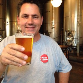 Drinking a Pliny with the Big Arm