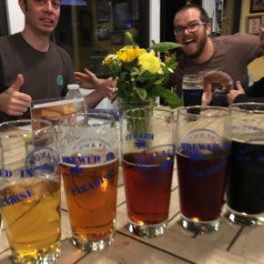 Island Brew on a Friday!