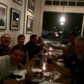 Ojai Beer Barons at the Ojai Valley Brewery!